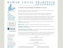 Roman Legal Tradition